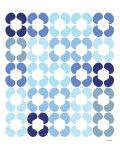 Blue Quilt Poster par  Avalisa