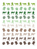 Brown Forest Posters by  Avalisa