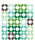 Green Quilt Print by  Avalisa
