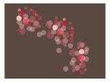 Brown Red Float Posters par  Avalisa