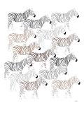 Zebra Pattern Posters par  Avalisa