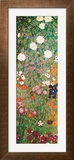 Flower Garden (Detail) Prints by Gustav Klimt
