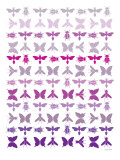 Purple Insects Poster par  Avalisa