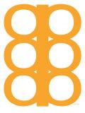Orange Design, no. 300 Posters af Avalisa