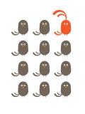 Red Dudes Poster par  Avalisa