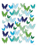 Cool Butterfly Pattern Posters par Avalisa 