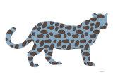 Blue Jaguar Reproduction giclée Premium par  Avalisa