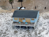 Hurricane Ike, Galveston, TX Fotoprint