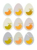 Modern Egg Hatching Posters par  Avalisa