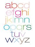 Rainbow Alpha Kunstdruck von  Avalisa