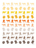 Orange Forest Posters by  Avalisa