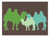 Green Camel Posters by  Avalisa