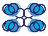 Blue Design, no. 105 Poster von  Avalisa