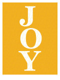 Orange Joy Poster van Avalisa