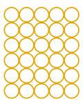 Yellow Circles Plakater av  Avalisa