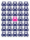 Pink Parking Lot Posters par  Avalisa