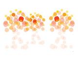 Orange Wonder Posters af Avalisa