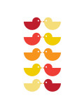 Orange Kiss Posters par  Avalisa