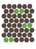 Green Dots Posters par  Avalisa