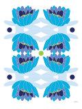 Blue Lotus Posters par  Avalisa