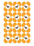 Orange Deer Hoof Posters by  Avalisa