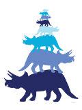 Blue Tritop Posters par  Avalisa