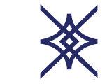 Navy Diamond Kunstdruck von  Avalisa