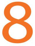 Orange Eight Prints by  Avalisa