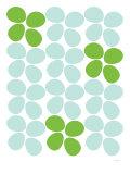 Fiori verdi Stampa di Avalisa,