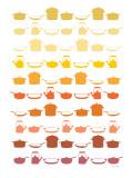 Orange Pots and Pans Posters af Avalisa