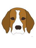 Beagle Posters par  Avalisa