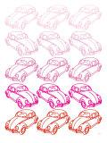 Pink Bug Posters par  Avalisa