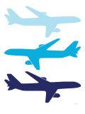 Blue Planes Posters par  Avalisa