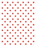 Red Polk-a-dots Posters par  Avalisa