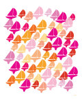 Warm Fleet Print by  Avalisa