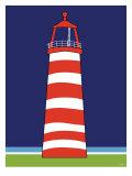 Faro rojo Poster por Avalisa