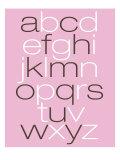 Pink Alpha Poster von  Avalisa