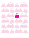 Pink Handbags Posters by  Avalisa