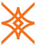 Orange Diamond Posters par  Avalisa