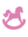 Pink Rocking Horse Posters par  Avalisa
