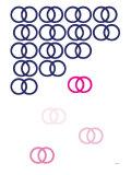 Pink Rain Reproduction giclée Premium par  Avalisa