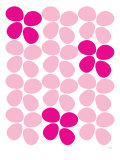 Pink Flowers Posters by  Avalisa