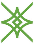 Green Diamond Posters par  Avalisa