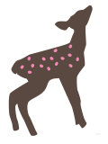 Pink Fawn Posters by Avalisa 