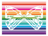 Sunset Butterfly Posters par  Avalisa