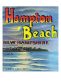 Hampton Beach, New Hampshire, View of Historic Boars Head Posters