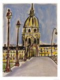 Pont Alexander - Scene I Giclee Print by Susan Gillette