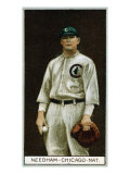 Chicago, IL, Chicago Cubs, Thomas Needham, Baseball Card Poster