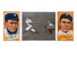 Brooklyn, NY, Brooklyn Dodgers, William Dahlen, Zach D. Wheat, Baseball Card Poster