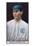 Chicago, IL, Chicago Cubs, Victor Saier, Baseball Card Art
